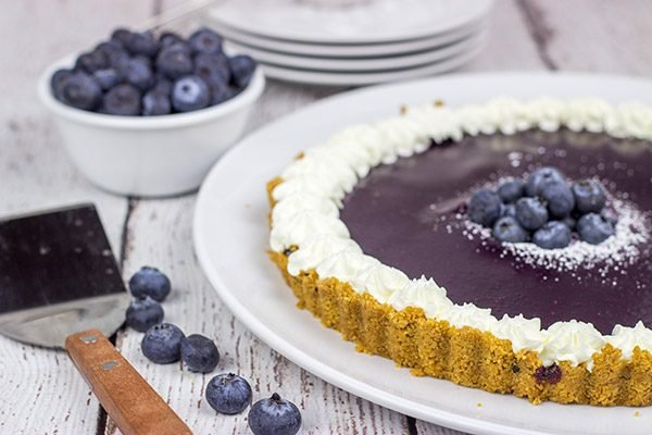 This Blueberry Citrus Tart is a fun and tasty way to highlight fresh summer blueberries!