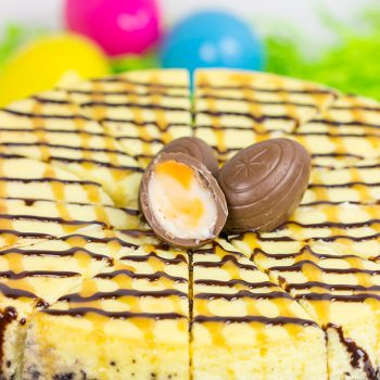 Cadbury Creme Egg Cheesecake