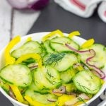 Cold Cucumber Salad