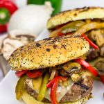 Grilled Philly Burgers