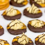 No Bake Chocolate Peanut Butter Pie RITZ Crackers