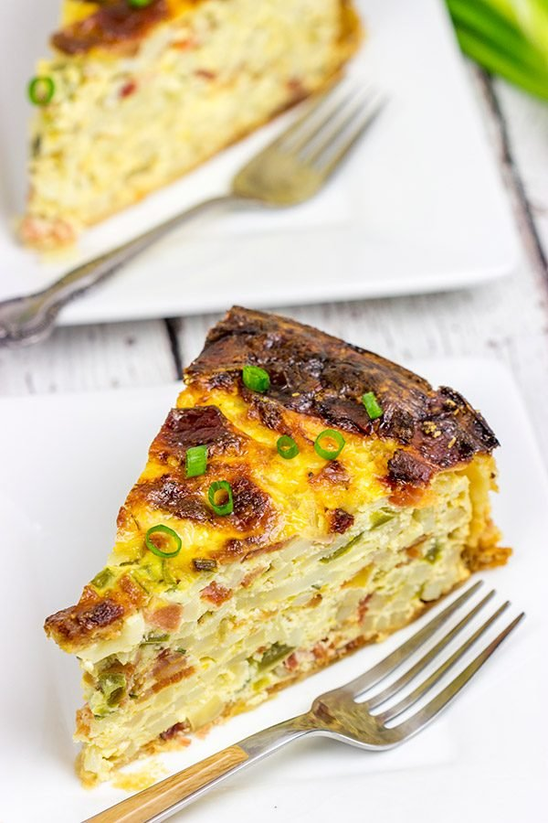 This Bacon and Egg Breakfast Casserole is perfect for weekend brunch!