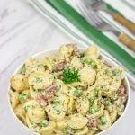 Prosciutto and Pea Pasta Salad