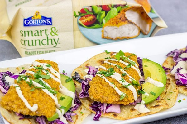 These Crispy Baja Fish Tacos are not only quick and easy, but packed with delicious flavor, too!  They're the perfect way to celebrate the arrival of warmer days!
