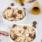 Malted Milk Ice Cream