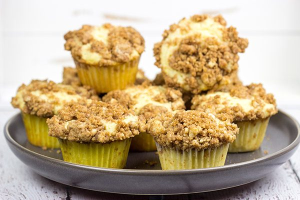 Do you love brown sugar and cinnamon? Then these Crumb Cake Muffins are calling your name! They're packed with flavor, and they can be served as breakfast or dessert!