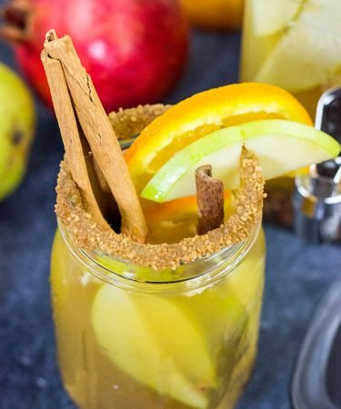 Celebrate the arrival of Autumn with a glass of this Fall Harvest Sangria. It's full of your favorite fruits, and it can be made with either red or white wine!
