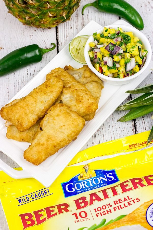 how to cook battered fish fillet