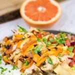 Citrus Grilled Salmon Skewers