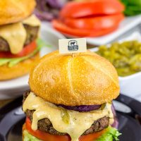 Bring the flavors of New Mexico to the grill with these Hatch Green Chile Burgers! And don't forget the pepperjack cheese sauce!