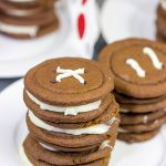 Gingerbread Button Cookies