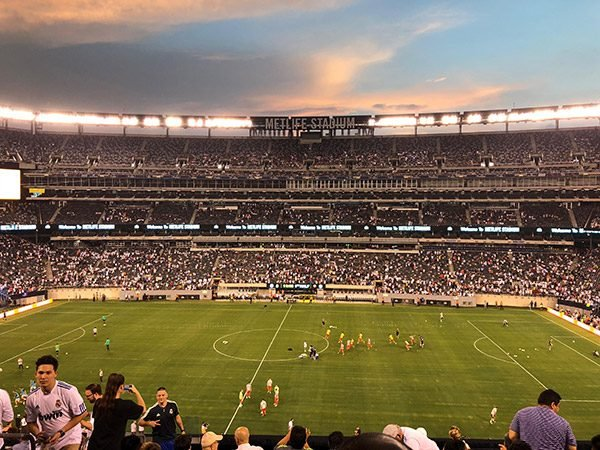 MetLife Stadium : AS Roma - Real Madrid