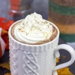 Pumpkin Spice Mocha Hot Chocolate