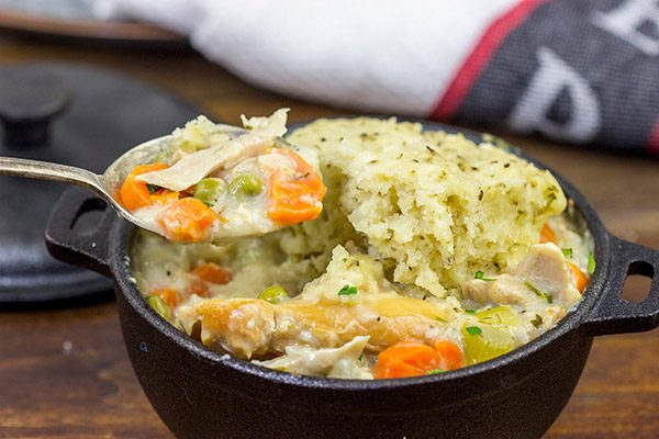 These Slow Cooker Chicken and Dumplings are the very definition of winter comfort food! This recipe is sure to keep you warm on the cold winter nights ahead.