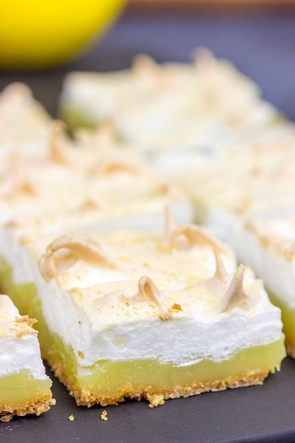 When life gives you lemons...make Lemon Meringue Bars!  These bars are a classic, summer dessert.  Grab some lemons and make a batch this weekend!