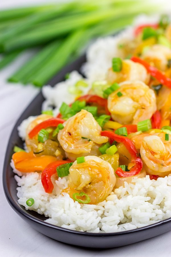 Skip the takeout and make this Sweet and Sour Shrimp at home! You'll be surprised at how easy (and tasty) this is!