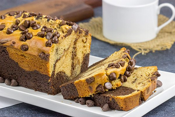 Can't decide between chocolate and peanut butter? Go with both! This swirled Chocolate Peanut Butter Bread is a fun and tasty recipe!
