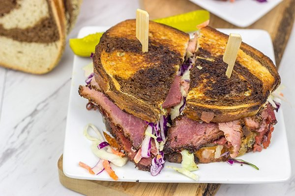 St. Patrick's Day is the perfect time to make Homemade Pastrami! Just grab some corned beef from the store, toss it on the smoker and *boom* Homemade Pastrami!