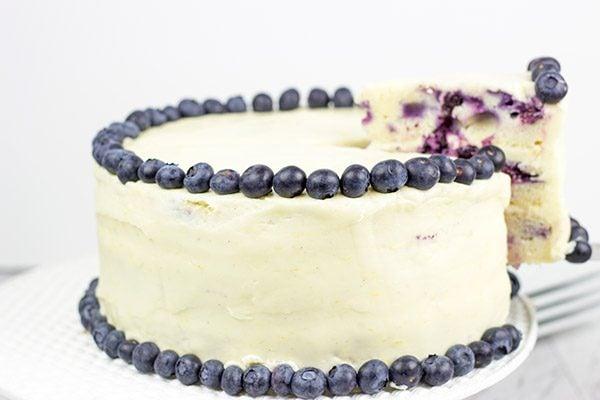 Lemon Blueberry Cake A Blueberry Muffin Meets A Lemon Cake