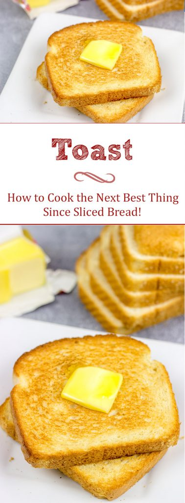 This recipe for perfectly toasted Toast is the best things since, well, sliced bread.  Butter optional, but highly recommended.