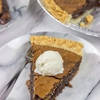 Served either warm or cold, this Chocolate Chess Pie will be an instant family favorite!