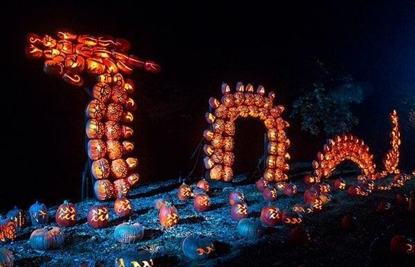 Great Jack O'Lantern Blaze in upstate New York