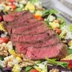 Grilled Steak Salad with Strawberries and Blue Cheese