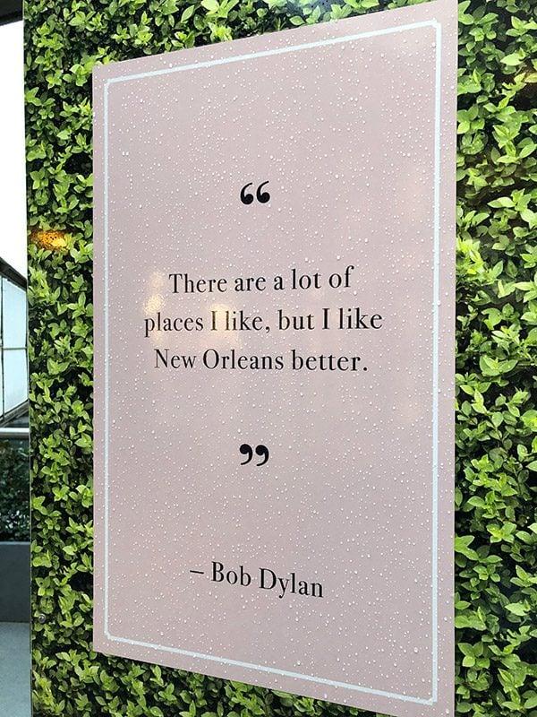 Bob Dylan New Orleans