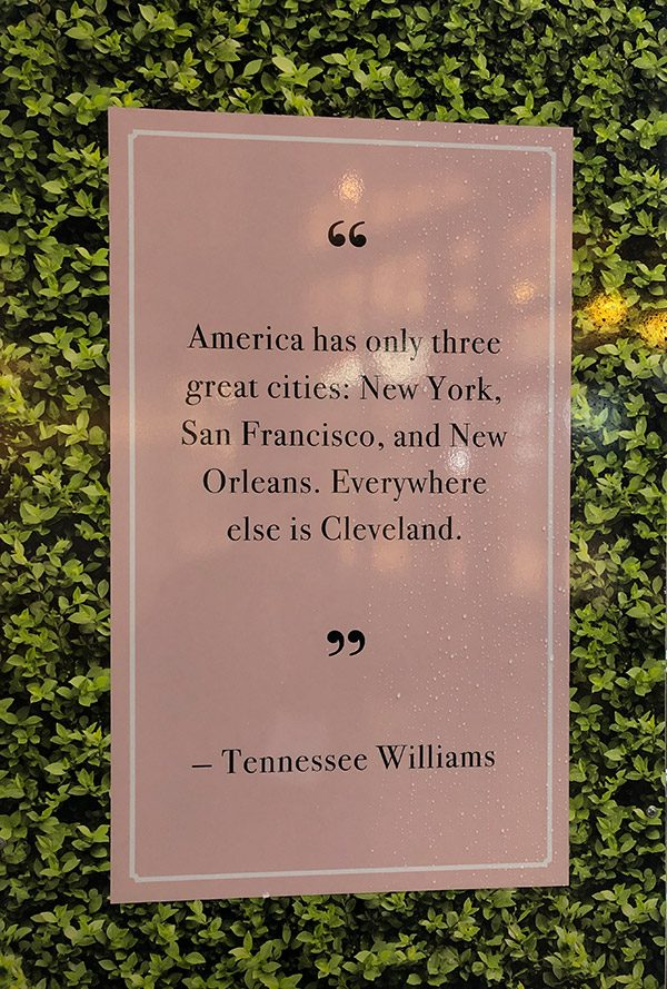 New Orleans Tennessee Williams