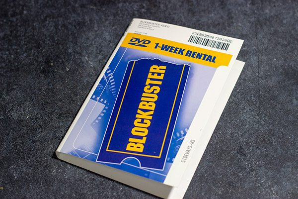 Blockbuster Case Cover