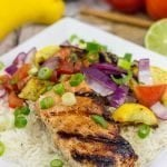 Grilled Honey Lime Salmon