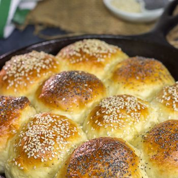 There's just something magical (not to mention downright delicious) about Homemade Dinner Rolls. Bake up a batch for dinner tonight!