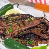 Add a new twist to the grill with these Grilled Beef Flanken Ribs! They're kinda like the beef version of chicken wings!
