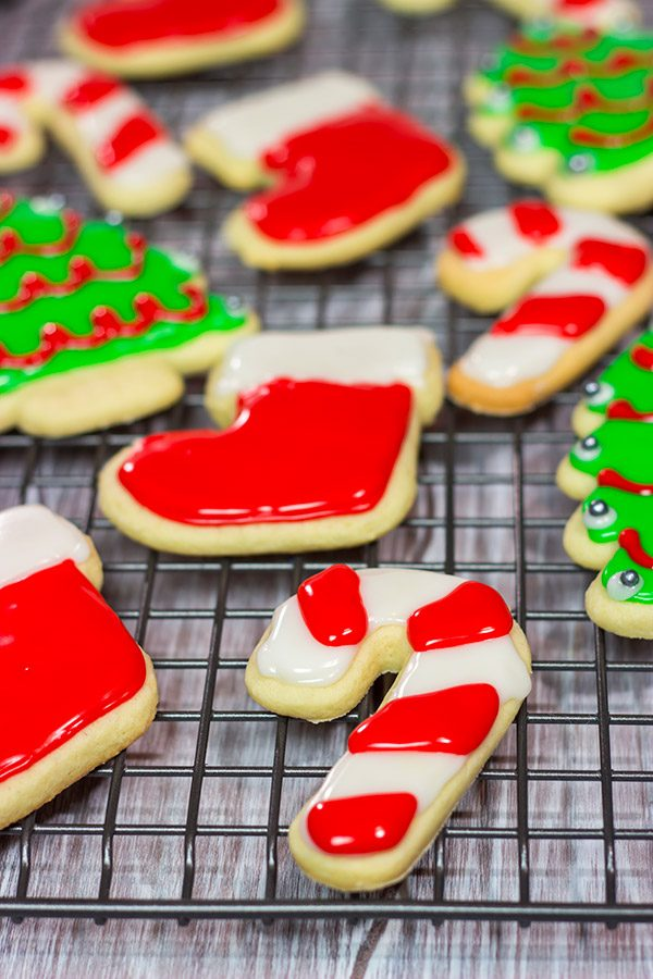 Decorating holiday cookies is an wonderful tradition!  Esther's Sugar Cookies are tender and soft, and the dough can be rerolled as many times as you need.  Happy baking...and decorating!