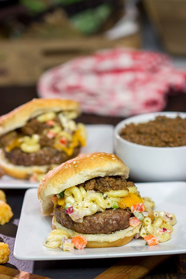 Turn a classic western New York dish into burger form with these Garbage Plate Burgers! Talk about grilled comfort food at its finest!