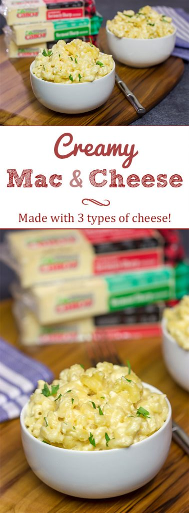 Made with 2 types of cheese, this Creamy Mac and Cheese is a classic winter comfort food! From the creamy texture to the layers of flavor, this recipe is worthy of a bookmark!