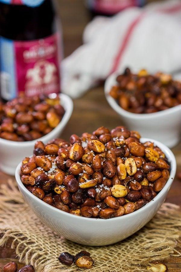 Hickory Smoked Peanuts