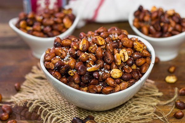 These Hickory Smoked Peanuts are surprisingly easy to make, and they are a fun and unique snack for the next backyard party!