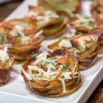 Muffin Tin Loaded Baked Potatoes