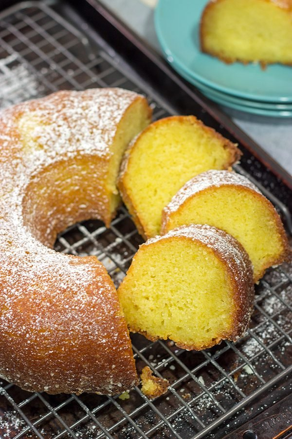 With orange juice in the cake and in the glaze, this Orange Juice Cake is a delicious treat for either breakfast or dessert!
