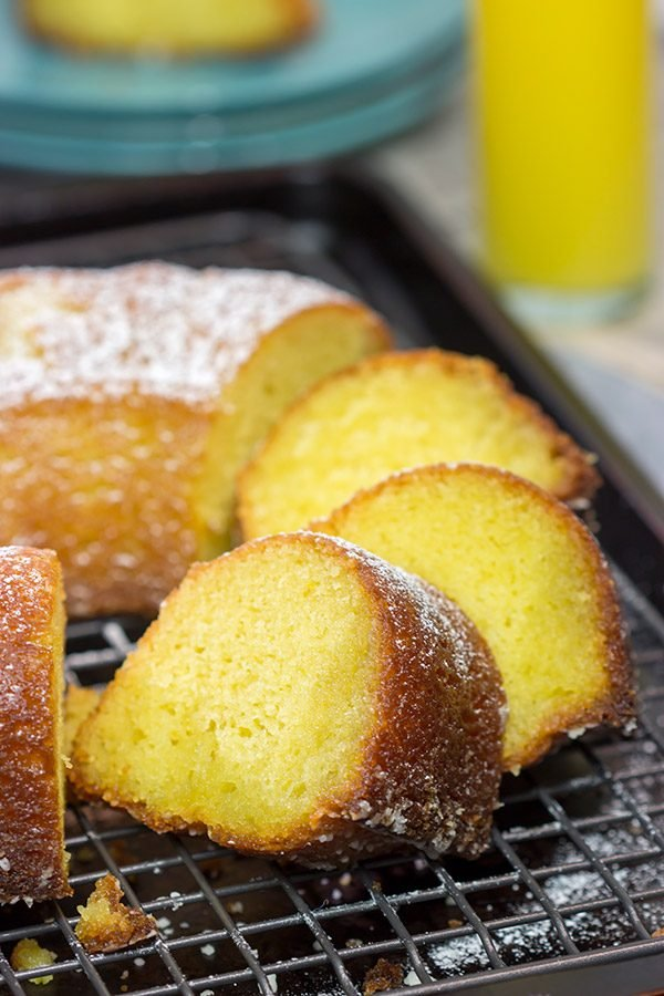 With orange juice in the cakeand in the glaze, this Orange Juice Cake is a delicious treat for either breakfast or dessert!