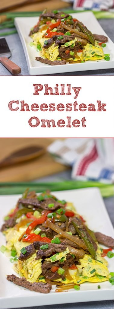 Breakfast for breakfast? Breakfast for dinner? Let's do both! Take your omelet to the next level by turning it into a Philly Cheesesteak Omelet!