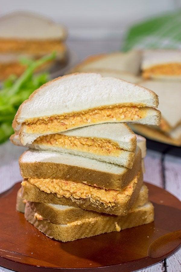 Pimiento Cheese Sandwiches