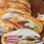 Braided Reuben Bread