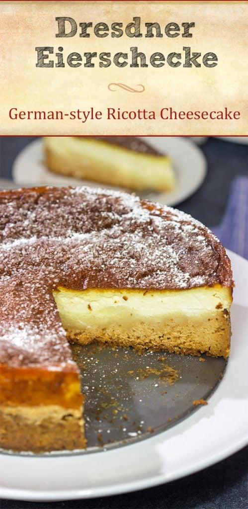 A Dresdner Eierschecke is a traditional Saxon dessert featuring 3 distinct layers. It's a fun (and unique) dessert!