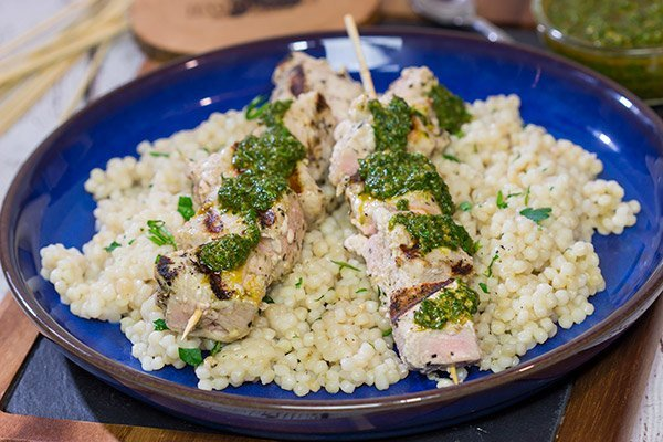 With origins in Moroccan cuisine, Chermoula Sauce is an easy and flavorful way to boost the flavor of grilled seafood, chicken and even veggies.