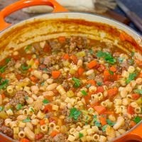 Pasta e Fagioli | Tastes better than the Olive Garden version!