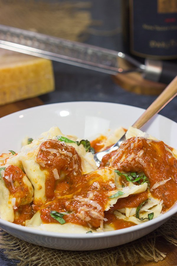 What happens when homemade pasta meets smoked meat? This Smoked Brisket Ravioli is a fun combination of flavors, and it makes for one heck of a delicious dinner!