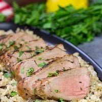 Fire up the grill! This Grilled Pork Tenderloin starts with a classic marinade for an easy and flavorful meal on the grill!