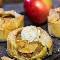 Who wants to share your apple pie? Not this guy! These Individual Apple Pies are a fun way to serve a classic Autumn dessert!